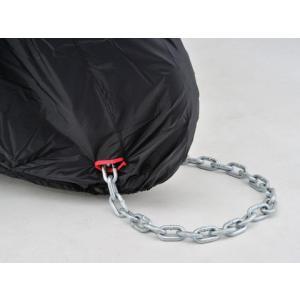 DAYTONA デイトナ バイクカバー ボディーカバー Lサイズ 98202 BLACK COVER Simple バイクカバーシンプル ブラック 盗難防止|horidashi|04