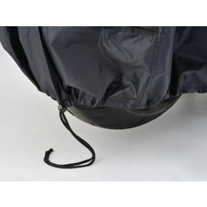DAYTONA デイトナ バイクカバー ボディーカバー Lサイズ 98202 BLACK COVER Simple バイクカバーシンプル ブラック 盗難防止|horidashi|05