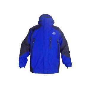 WW製 ワールドウォーク製 hww-1 Lサイズ ブルー/青 バイクウェア アウトドアジャケット マウンテンパーカー マウンテンパーカ ナイロンジャケット|horidashi