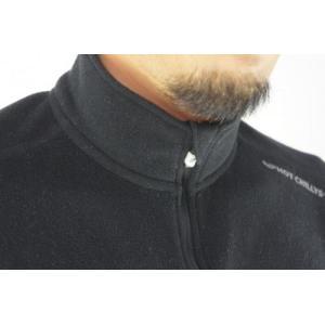 セール特価 レビューで特典 HOT CHILLYS ラ モンタナ 極寒地仕様のベースレイヤー ジップアップシャツ メンズ ブラック HC4033 ホットチリーズ|horidashi|02