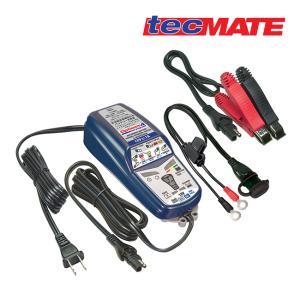 特価品 送料無料 tecMATE テックメート バッテリーチャージャー OPTIMATE4 オプティメイト4 Dual フルオートマチック 12V対応 3年保証|horidashi