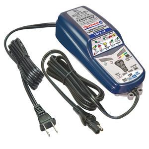 (ポイント5倍)国内正規 送料無料 バイクバッテリー 充電器 テックメート バッテリーチャージャー OPTIMATE4 オプティメイト4 Dual オートマチック 3年保証|horidashi|03