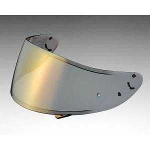 SHOEI ショウエイ Z-7 Z7 CWR-1 PINLOCK スモークミラー ゴールド/ファイアーオレンジ スクリーン シールド ヘルメット用オプション|horidashi