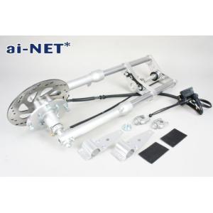 セール特価 3ヶ月保証付 APE(エイプ50 エイプ100) フロントフォークキット ディスク化キット aiNET製|horidashi