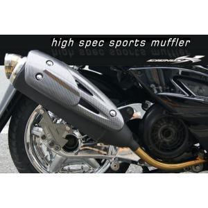 セール特価 レビューで特典 1年保証付 CYGNUS X(シグナスX)125 マフラー レーシングスポーツ マフラー SE12 SE44|horidashi