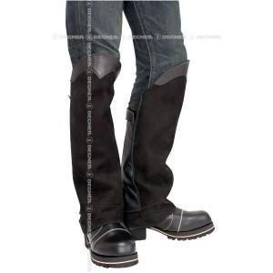 DEGNER デグナー レザー ブーツ チャップス DBC-07A ブラック/XLサイズ