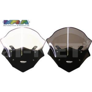 送料無料 MRA エムアールエー スクリーンツーリング MT-09 TRACER(トレーサー) 14-15 スクリーン クリア or スモーク MT265C/S|horidashi