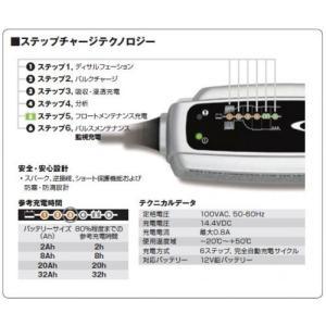 送料無料 バイク用 バッテリー充電器 バッテリーチャージャーXS0.8JP(充電器) 5年保証 DAYTONA(デイトナ)(93007)|horidashi|02