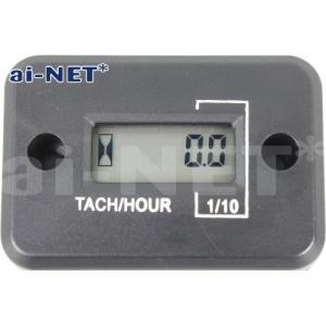 タコメーター デジタルタコメーター アワーメーター 電気式 防水 aiNET/アイネット製 汎用|horidashi|02