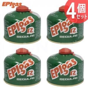 EPIgas 230レギュラーカートリッジ 4個セット 高性能標準タイプガス バーナー用 ガスカートリッジ キャンプ アウトドア フィッシング G-7001 EPIガス|horidashi