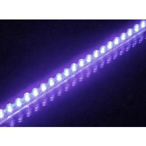 LEDチューブ 48個 48cm パープル 紫(PCX125 シグナスX NMAX アクシストリート アドレスV125 マジェスティ マグザム スカイウェイブ フォルツァ)|horidashi