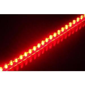 LEDチューブ 48個 48cm レッド 赤(PCX125 シグナスX NMAX アクシストリート アドレスV125 マジェスティ マグザム スカイウェイブ フォルツァ)|horidashi