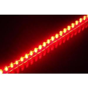セール特価 LEDチューブ 48個 48cm レッド 赤(PCX125 シグナスX NMAX アクシストリート アドレスV125 マジェスティ マグザム スカイウェイブ フォルツァ)|horidashi