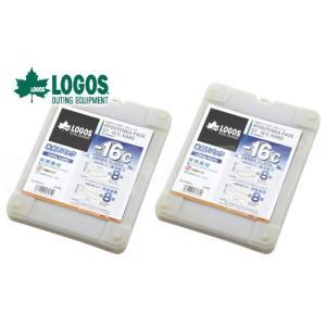 お買い得2個セット LOGOS/ロゴス 氷点下パックGT-16℃・ハード1200g 81660611 保冷剤 冷凍保存 長時間 最強|horidashi
