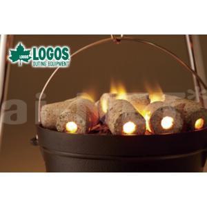 LOGOS/ロゴス エコココロゴス・ダッチチャコール30 83100105 炭 着火剤いらず 火起こ...
