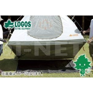 LOGOS/ロゴス テントぴったりグランドシート・XL 250×250 71809709 グランドシート テントアウターマット テントアウターシート 完全防水|horidashi