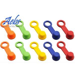 ブリードラバーキャップ 2個セット 12ヶ月保証 Aebs(エービス)ブリーダー ブリーダーラバーキャップ 赤 青 黄色 緑 オレンジ 純正互換品 horidashi