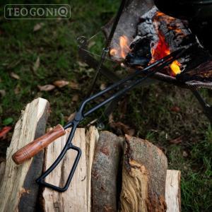 日本製 Fireplace Tongs/ファイヤープレーストング 63495 バーベキュー 炭ばさみ 薪ばさみ バーベキューグリル キャンプ TEOGONIA/テオゴニア|horidashi|05