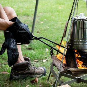日本製 Fireplace Tongs/ファイヤープレーストング 63495 バーベキュー 炭ばさみ 薪ばさみ バーベキューグリル キャンプ TEOGONIA/テオゴニア|horidashi|06