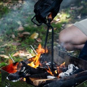 日本製 Fireplace Tongs/ファイヤープレーストング 63495 バーベキュー 炭ばさみ 薪ばさみ バーベキューグリル キャンプ TEOGONIA/テオゴニア|horidashi|07