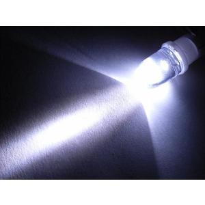 あすつく可 T10 LED ウェッジバルブ ホワイト 白 スポットタイプ|horidashi