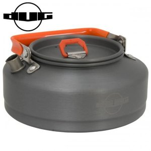DUG/ダグ ブラックアルミクッカー (DG-0211)バックパッカーケトル(キャンプ アウトドア ...