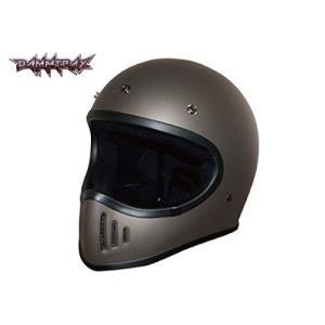 DAMMTRAX(ダムトラックス) ザ ブラスター改 ガンメタル Lサイズ THE BLASTER-改 バイク用 ヘルメット フルフェイス バイクヘルメット|horidashi