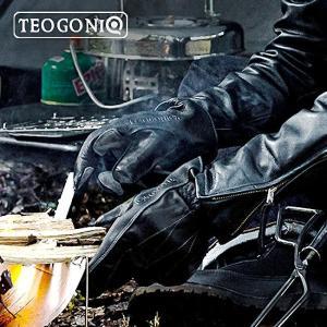 送料無料 TEOGONIA/テオゴニア HRグローブ ヒートレジスタントグローブ A-03 焚き火グローブ 耐熱グローブ 牛革 アウトドアグローブ 耐熱手袋 日本製|horidashi|07