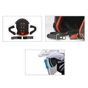 送料無料 リード工業 AIACE アイアス インナーシールド付きジェット アドベンチャー ヘルメット ジェットヘルメット|horidashi|04