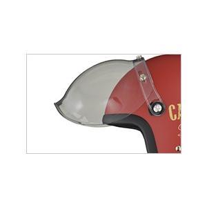 送料無料 リード工業 LEED工業 MOUSSE ジェット ヘルメット バブルシールド付き(ジェットタイプ/ジェットヘル/ジェッペル)|horidashi|09