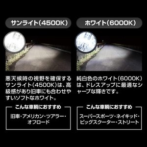 送料無料 日本製 バイク用LEDヘッドライト H9/H11 4500K 防水 耐震 コンパクト設計 3年保証 SPHERE/スフィアライト スフィアLED RIZING2 ライジング2(SRBH9045)|horidashi|05