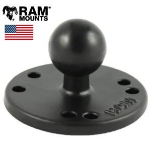 RAMOUNTS(ラムマウント) 2.5インチ ラウンドベース 1インチボール RAM-B-202U|horidashi