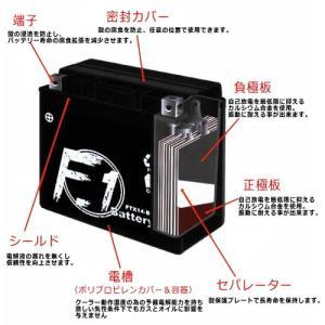 レビューで送料¥390 1年保証付 F1 バッテリー フォーサイト EX/BA-MF04用 バッテリー YTX12-BS 互換 MFバッテリー FTX12-BS|horidashi|02