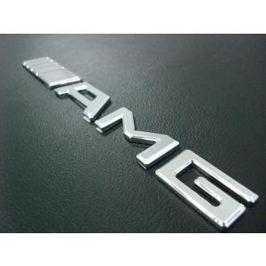 AMG エンブレムCLK63 オープン リアエンブレム|horidashi