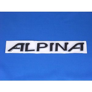 ALPINA アルピナ エンブレム BMW シール ステッカー 黒|horidashi