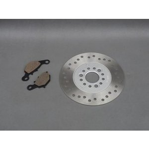 セール特価 保証付 ベクスター125/150 アドレス110 純正タイプ ブレーキパッド + ブレーキディスクローター セット horidashi
