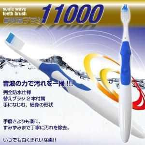 スーパーソニックウェーブ11000 MCE-3366 替え用ブラシ2本付属β|horidashiichiba