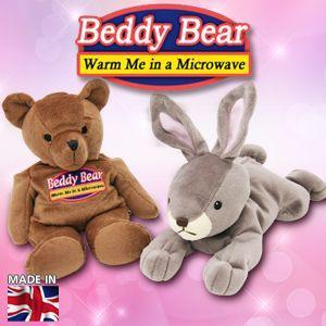 Beddy Bear シリーズ/ホットピロー電子レンジで約2分温めるだけの暖か安眠グッズβ|horidashiichiba