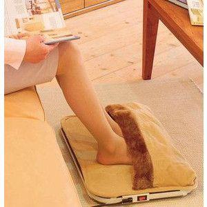 足温器 脚温器+パネルヒーター 一台二役の足元暖房器  省エネ・コンパクト設計・クリーン暖房β|horidashiichiba