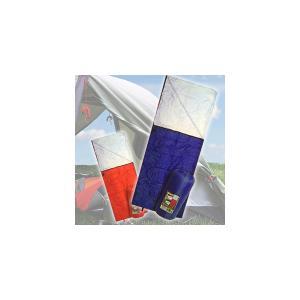 防災・キャンプに 収納袋付一人用寝袋*封筒型シュラフHK|horidashiichiba
