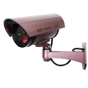 防犯ダミーカメラ センサー搭載 CCD 防犯カメラ 赤色LED点滅  リアルフェイク 監視カメラ 防犯 セキュリティ 自動監置 安|horidashiichiba