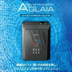 ハイブリッド加湿器 AGLAIA 17畳対応 超音波とヒーター両立 ミラー表示 マイナスイオン 吹出口(360度回転) 繊細なミスト ハイブリッド加湿機 FK-HD500M β|horidashiichiba