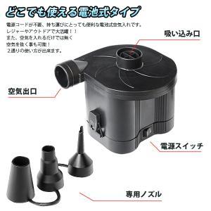【激安セール】どこでも使えるポータブル電動空気入れ 自動コー...