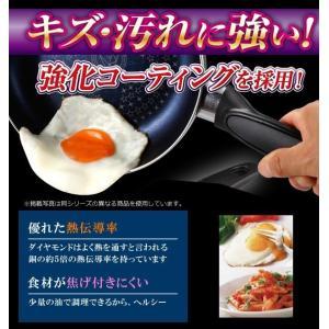 たまご焼き フライパン 焦げ付かない 簡単キレイに卵焼きができる  2層 ダイヤモンドコート 玉子焼き用  銅の5倍 高い耐久性 安 ダイヤたまご焼き器|horidashiichiba|02