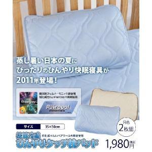 【熟睡アイテム】旭化成の枕!【まくら2枚セット】接触タッチクール/枕パッドPaircool(ペアクールR)マクラ|horidashiichiba