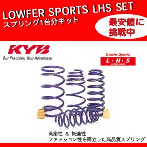 KYB カヤバ タント LA600S スプリング ダウンサス セット 1台分 ローファースポーツ LHSセット Lowfer Sports LHS-LA600SRS horidashimono
