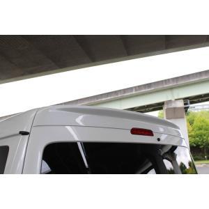BEECAS ハイエース 200系 4型 ワイド車 リアウィング ウイング ver3 ビーキャス K-BREAK ケイブレイク|horidashimono