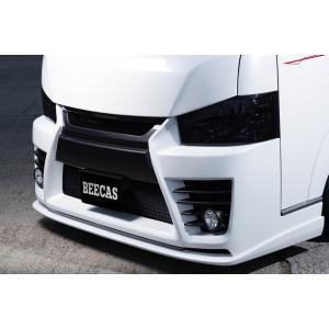 BEECAS ハイエース 200系 4型 標準車 ブラックネット  ビーキャス K-BREAK ケイブレイク|horidashimono