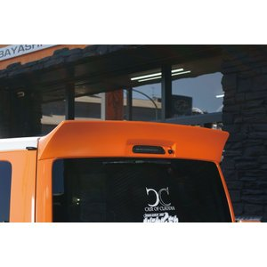 BEECAS ハイエース 200系  標準 ナロー ダックテール リアウィング  BEECAS RACING ビーキャスレーシング K-BREAK ケイブレイク|horidashimono