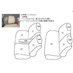 ラパン シートカバー HE22S 一台分 クラッツィオ ES-0626 クラッツィオダイヤ 内装 送料無料|horidashimono|02